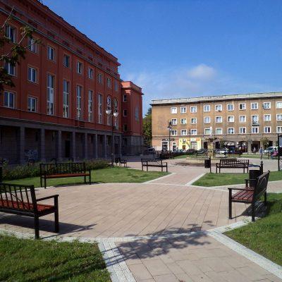 Plac Św. Anny (wcześniej: Plac Stalina) w Tychach