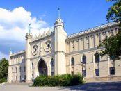 Zdjęcie zamku królewskiego w Lublinie