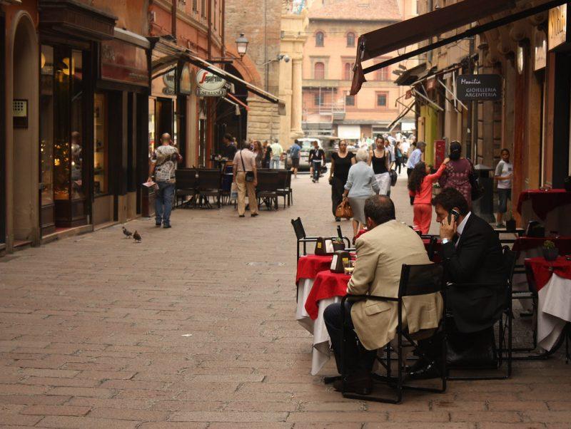 Zdjęcie ulicy Bolonii