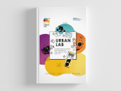 Okładka książki URBAN LAB narzędzie poprawy jakości życia mieszkańców miast zgodne z ideą smart city
