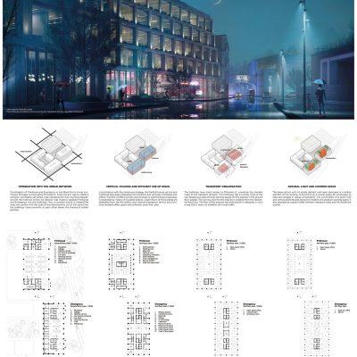 II miejsce w konkursie w Nachodzie (Czechy);, autorzy: Leto Architects (Moskwa) | mat prasowe miasta Nachod