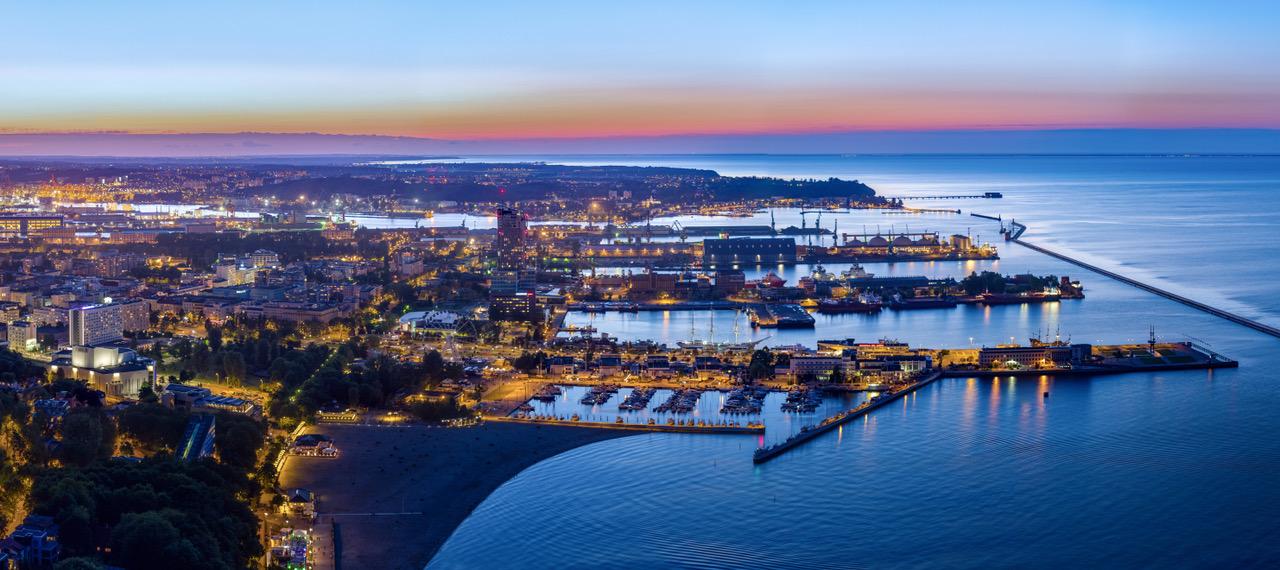 Gdynia jest szybko rozwijającym się miastem   źródło: ULI Poland
