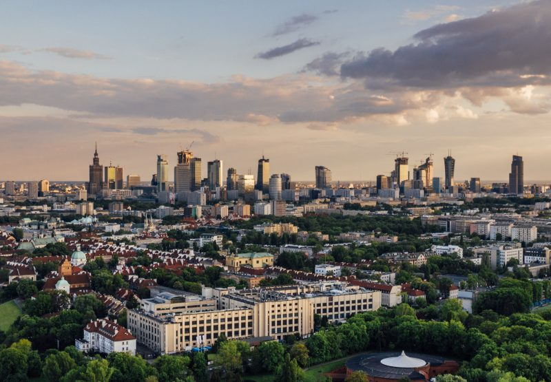 Warszawa panorama   unsplash